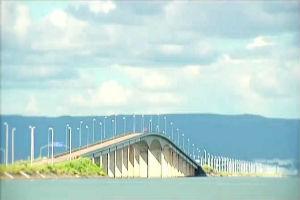 Ponte sobre o rio Tocantins em Palmas