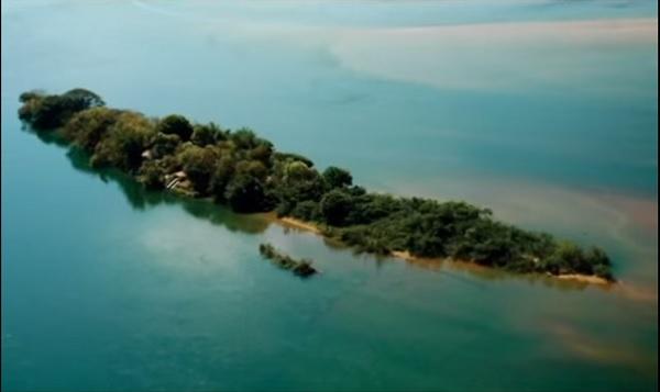 quipélago do tropeço ilha